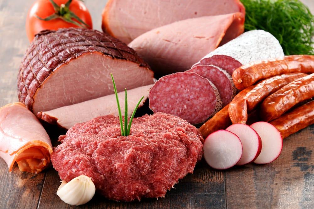 в основном едят мясо