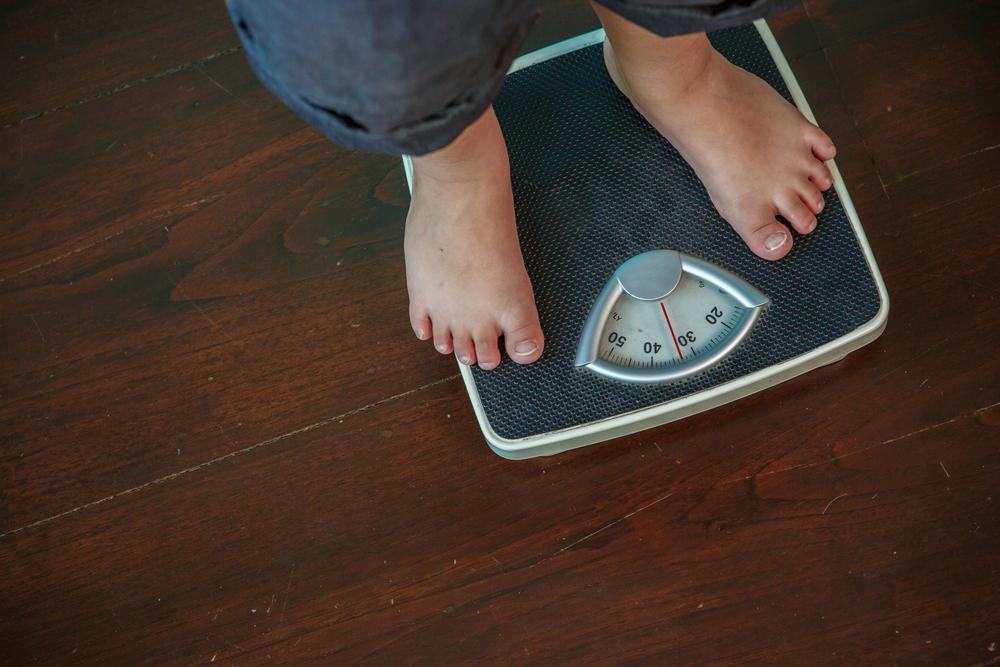 вес ребенка растет