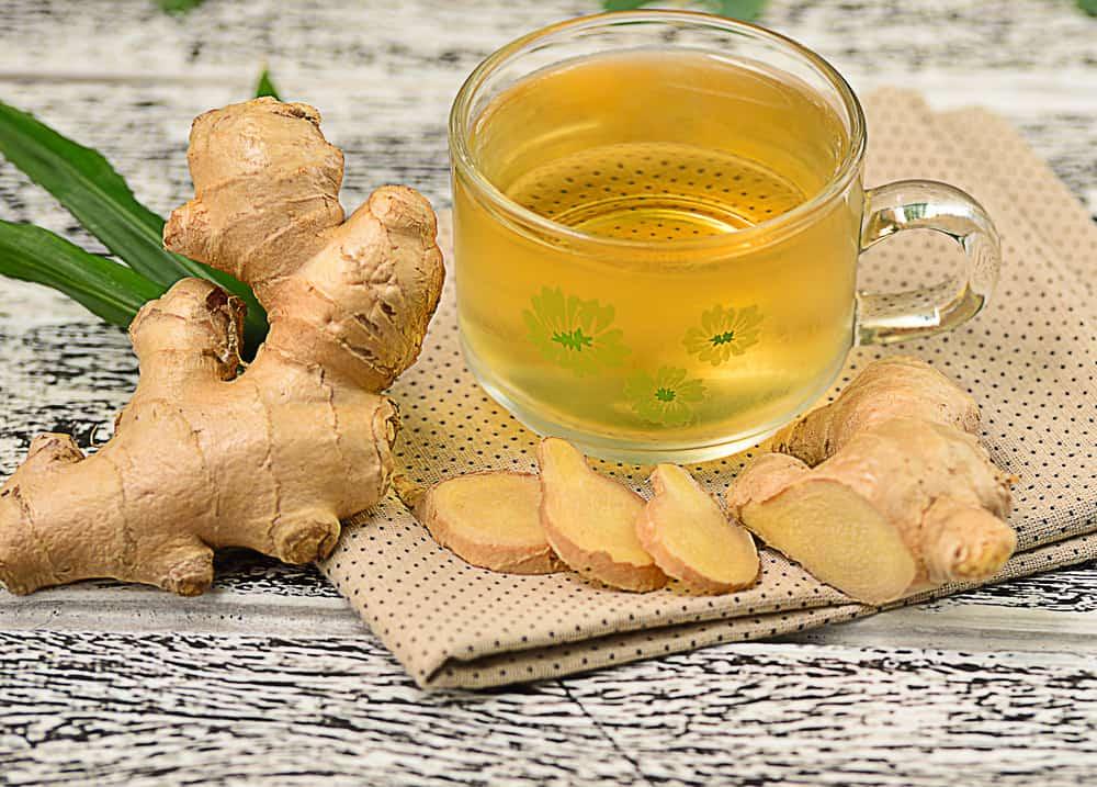 Имбирный напиток чай похудеть
